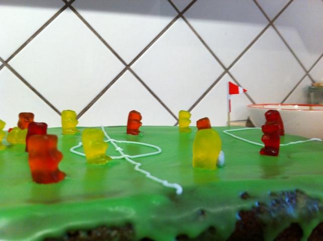 Fodboldkampkage